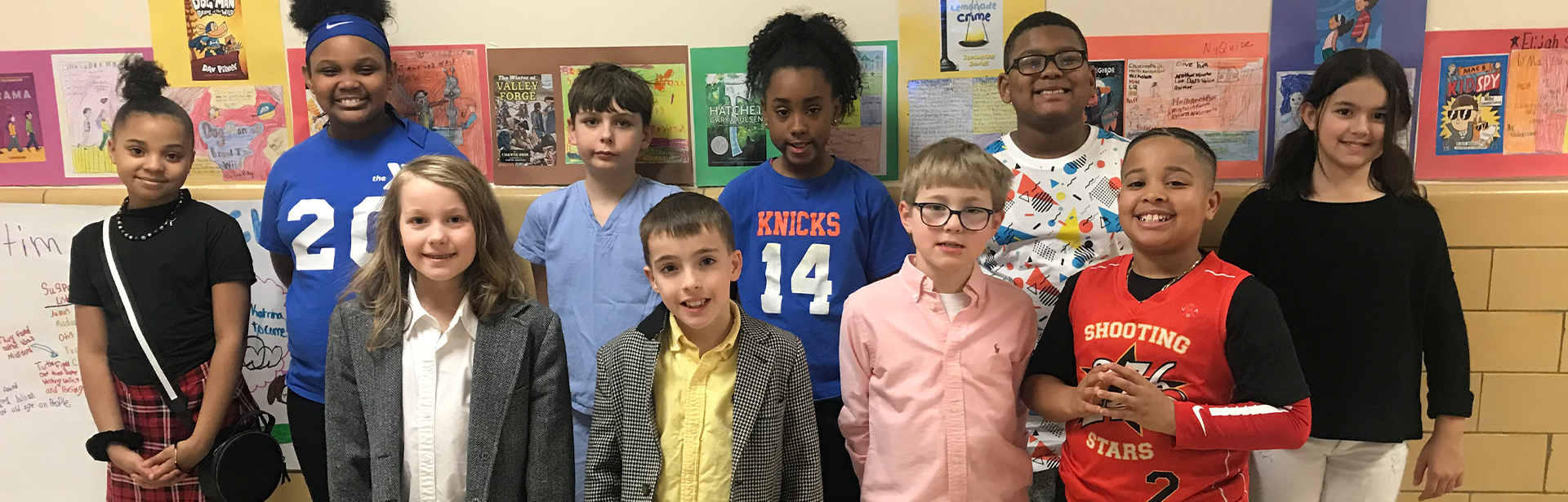 Students dress up for a themed day